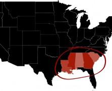 De paradox van het diepe zuiden